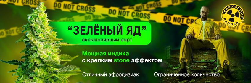 Зелёный Яд - убойная индика!